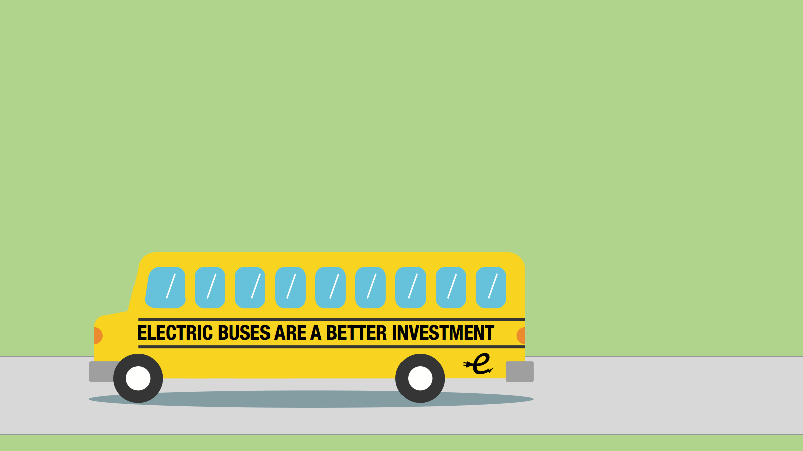 <h3>BENEFITS OF ELECTRIC BUSES</h3><p>Compared to a diesel bus, an electric school bus equipped with vehicle-to-grid capabilities could save more than $31,000 over a bus's 16-year lifetime.</p>